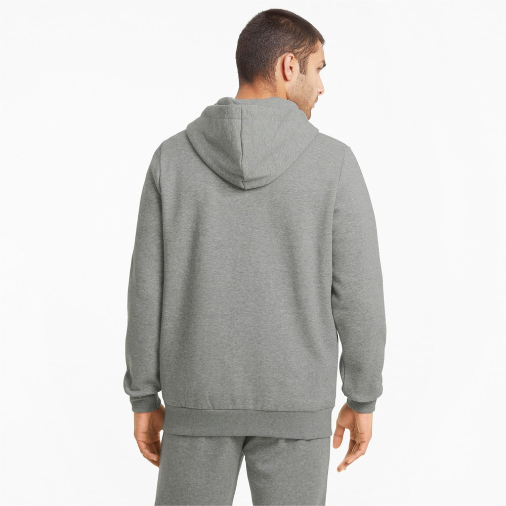 Изображение Puma Толстовка Essentials Full-Zip Logo Men's Hoodie #2