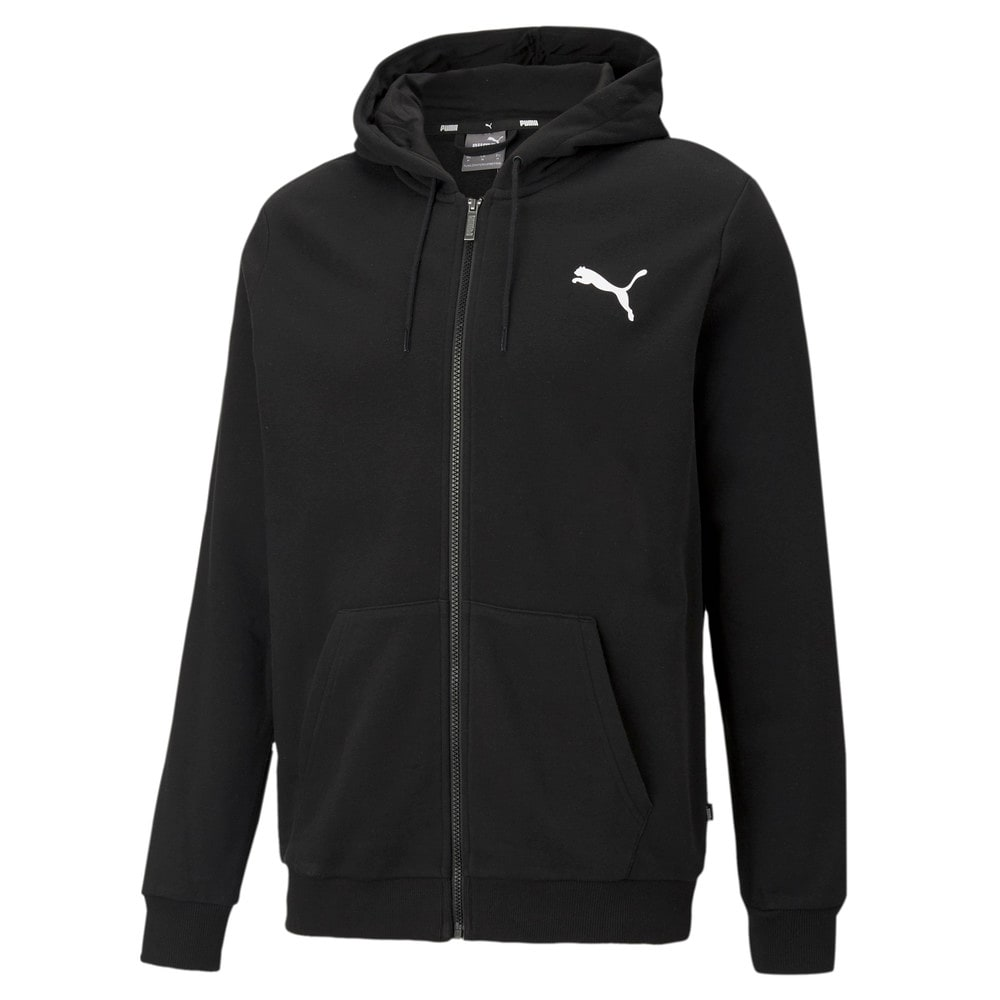 Изображение Puma Толстовка Essentials Small Logo Full-Zip Men's Hoodie #1