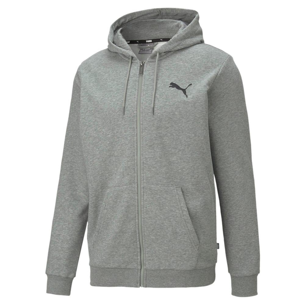 Изображение Puma Толстовка Essentials Small Logo Full-Zip Men's Hoodie #1