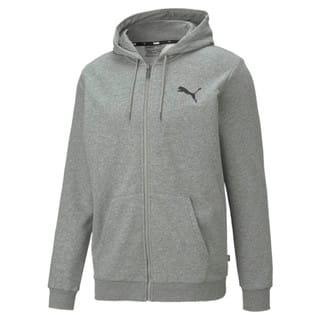 Изображение Puma Толстовка Essentials Small Logo Full-Zip Men's Hoodie