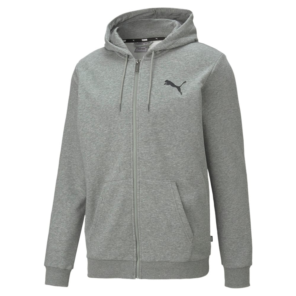 Зображення Puma Толстовка Essentials Small Logo Full-Zip Men's Hoodie #1