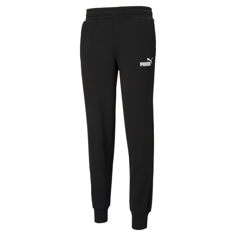 Зображення Puma Штани Essentials Logo Men's Sweatpants #1: Puma Black