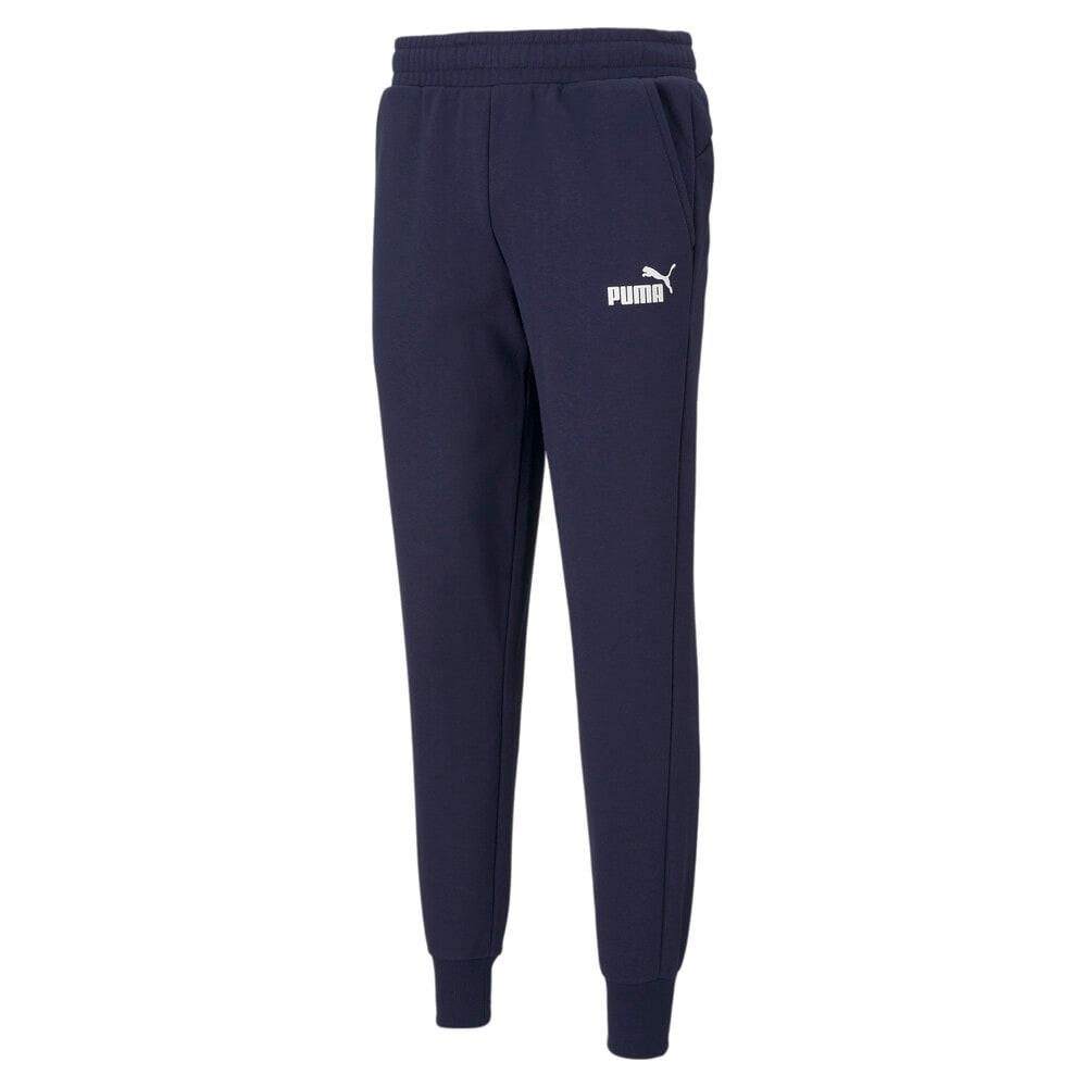 Изображение Puma Штаны Essentials Logo Men's Sweatpants #1: Peacoat