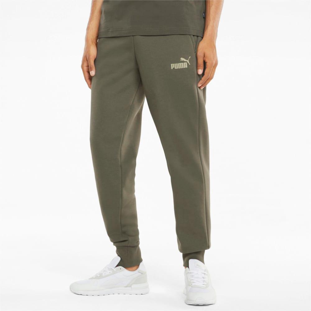 Зображення Puma Штани Essentials Logo Men's Sweatpants #1: Grape Leaf