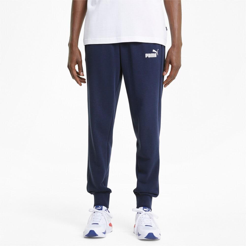 Зображення Puma Штани Essentials Logo Men's Sweatpants #1: Peacoat