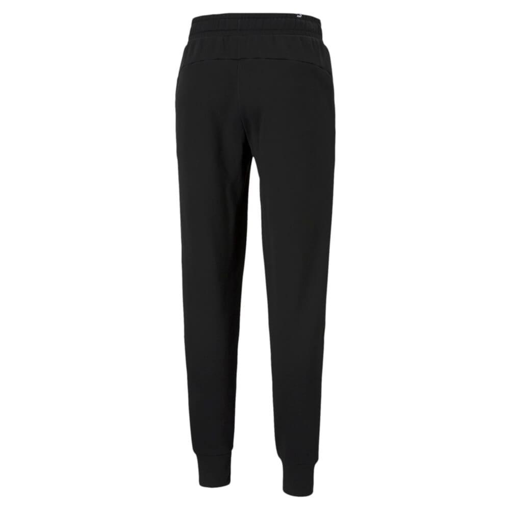 Зображення Puma Штани Essentials Logo Men's Sweatpants #2: Puma Black-Cat