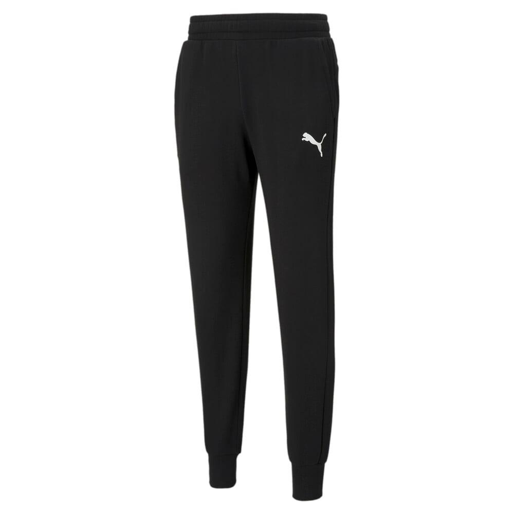 Зображення Puma Штани Essentials Logo Men's Sweatpants #1: Puma Black-Cat
