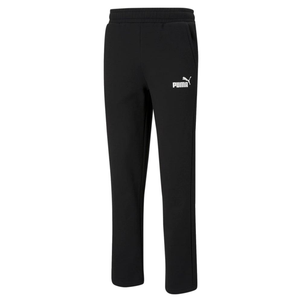 Зображення Puma Штани Essentials Logo Men's Pants #1: Puma Black