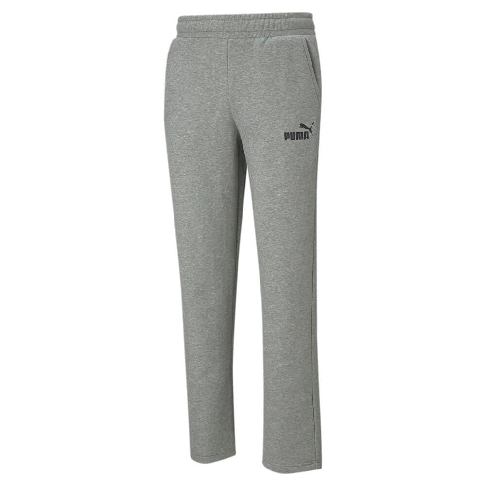 Изображение Puma Штаны Essentials Logo Men's Pants #1: Medium Gray Heather