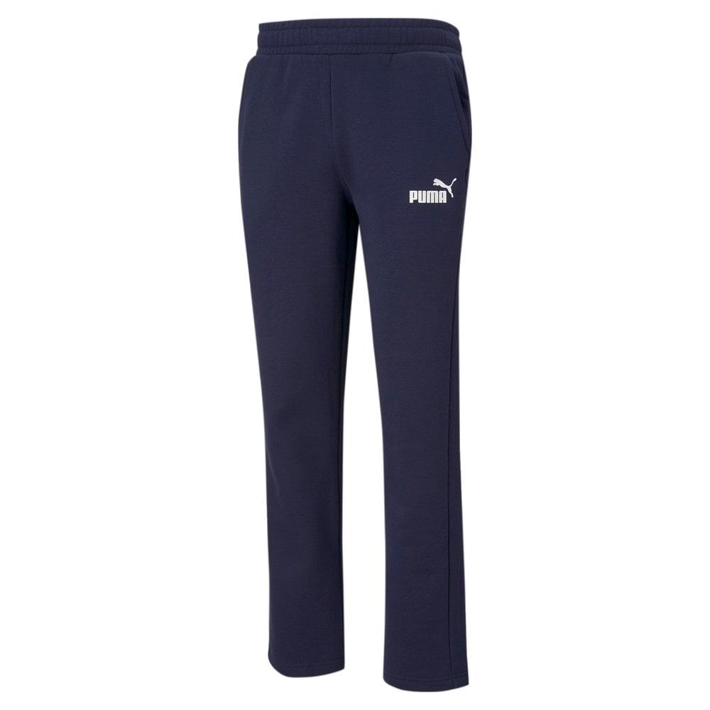 Изображение Puma Штаны Essentials Logo Men's Pants #1: Peacoat
