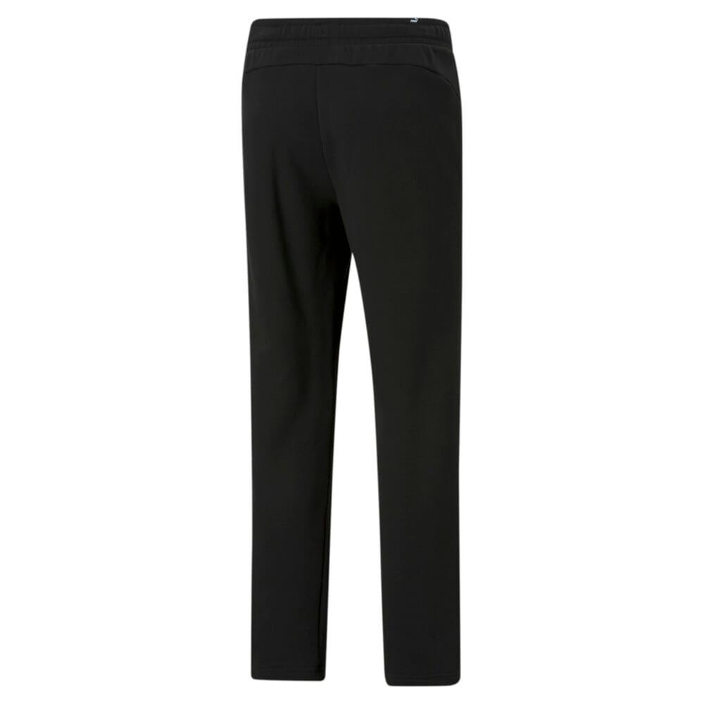 Изображение Puma Штаны Essentials Logo Men's Sweatpants #2: Puma Black-Cat