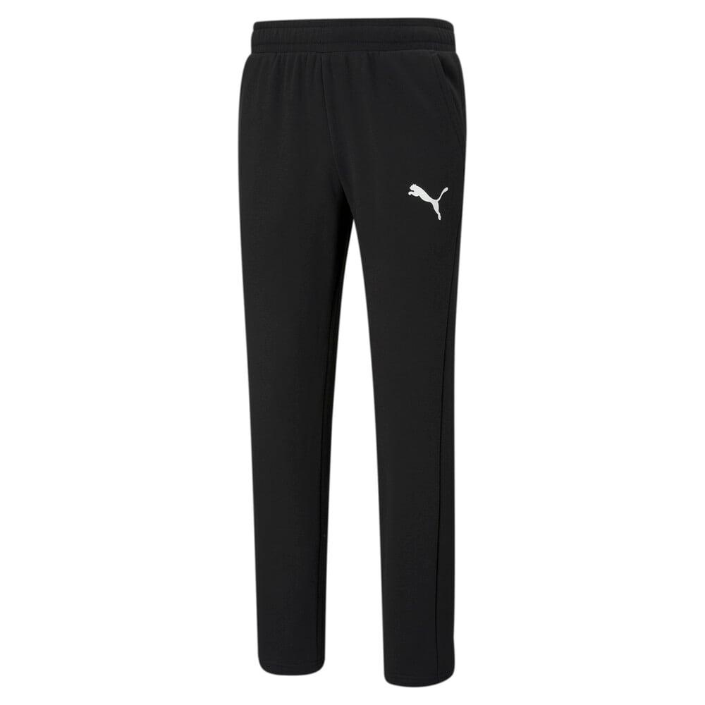Изображение Puma Штаны Essentials Logo Men's Sweatpants #1: Puma Black-Cat