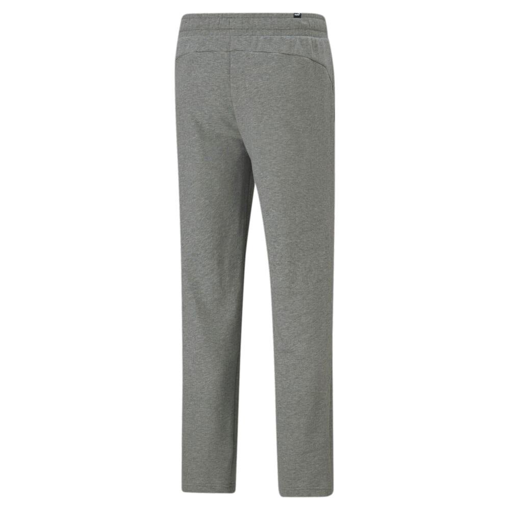 Изображение Puma Штаны Essentials Logo Men's Sweatpants #2: Medium Gray Heather-Cat