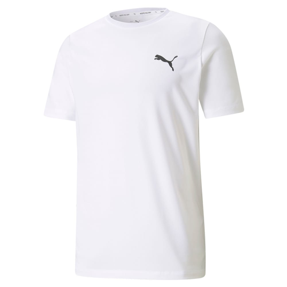 Изображение Puma Футболка Active Small Logo Men's Tee #1