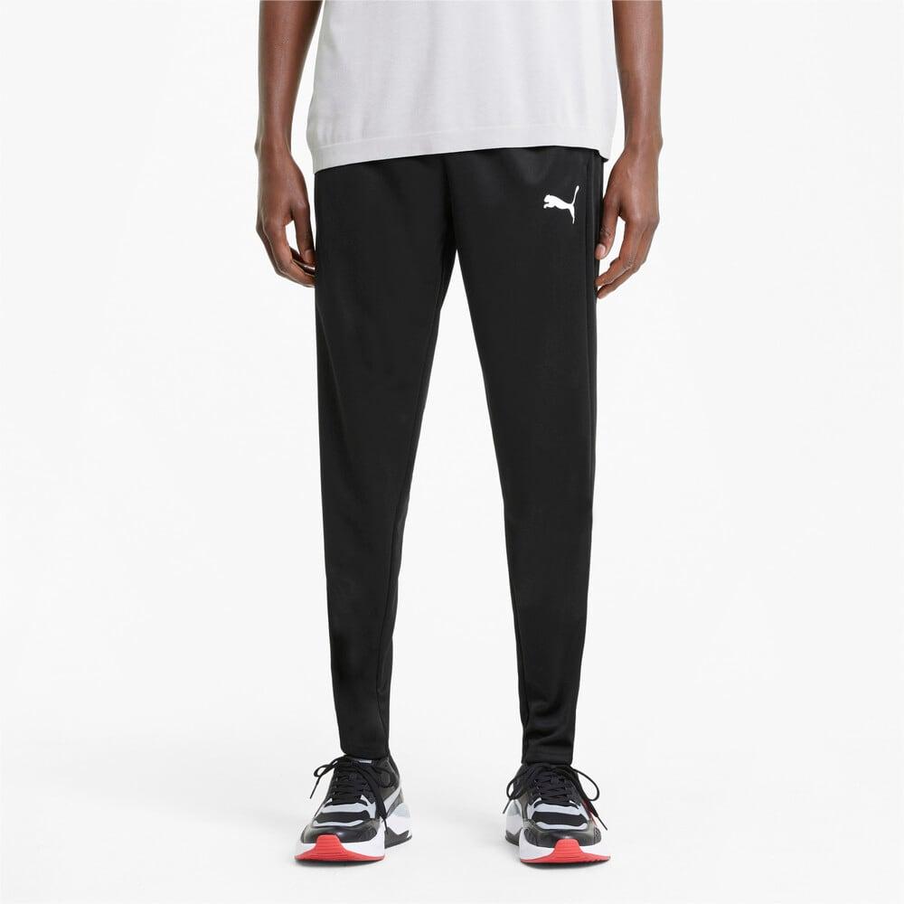 Изображение Puma Штаны Active Tricot Men's Sweatpants #1: Puma Black