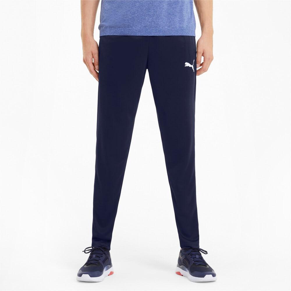 Зображення Puma Штани Active Tricot Men's Sweatpants #1: Peacoat