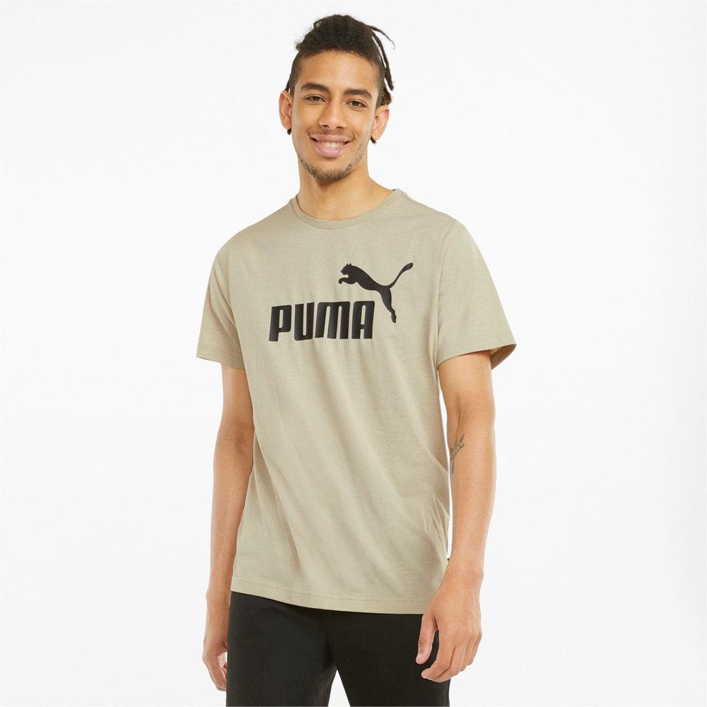 Изображение Puma Футболка Essentials Heather Men's Tee #1