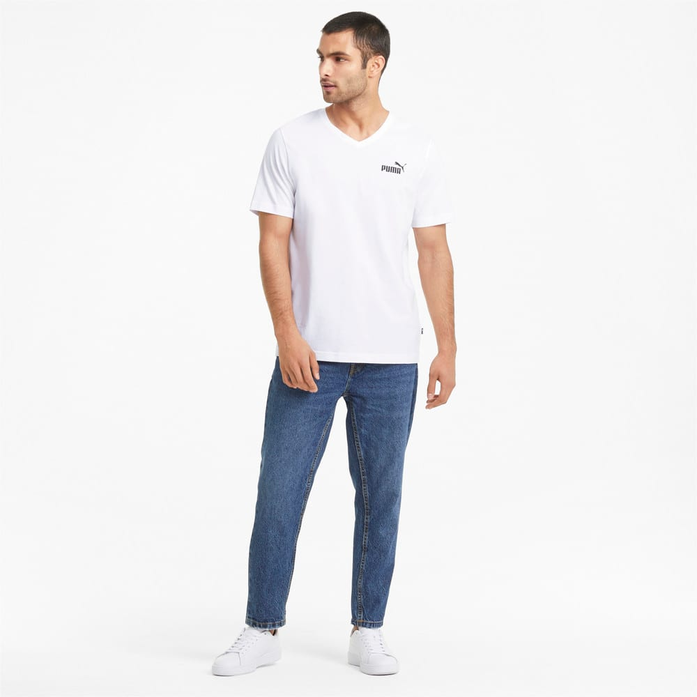 Изображение Puma Футболка Essentials V-Neck Men's Tee #2