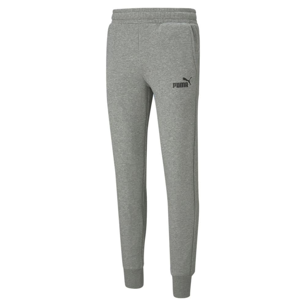 Imagen PUMA Pantalones deportivos semiajustados para hombre Essentials #1