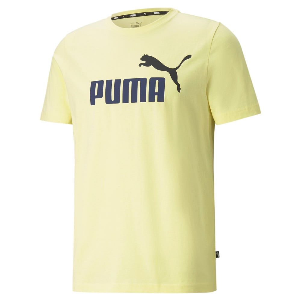 Изображение Puma Футболка Essentials+ 2 Colour Logo Men's Tee #1