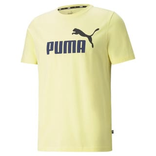 Зображення Puma Футболка Essentials+ 2 Colour Logo Men's Tee