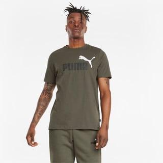 Зображення Puma Футболка Essentials+ 2 Colour Logo Men's Tee