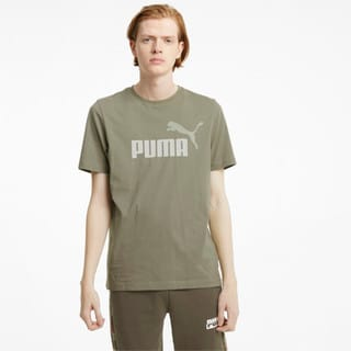 Изображение Puma Футболка Essentials+ 2 Colour Logo Men's Tee