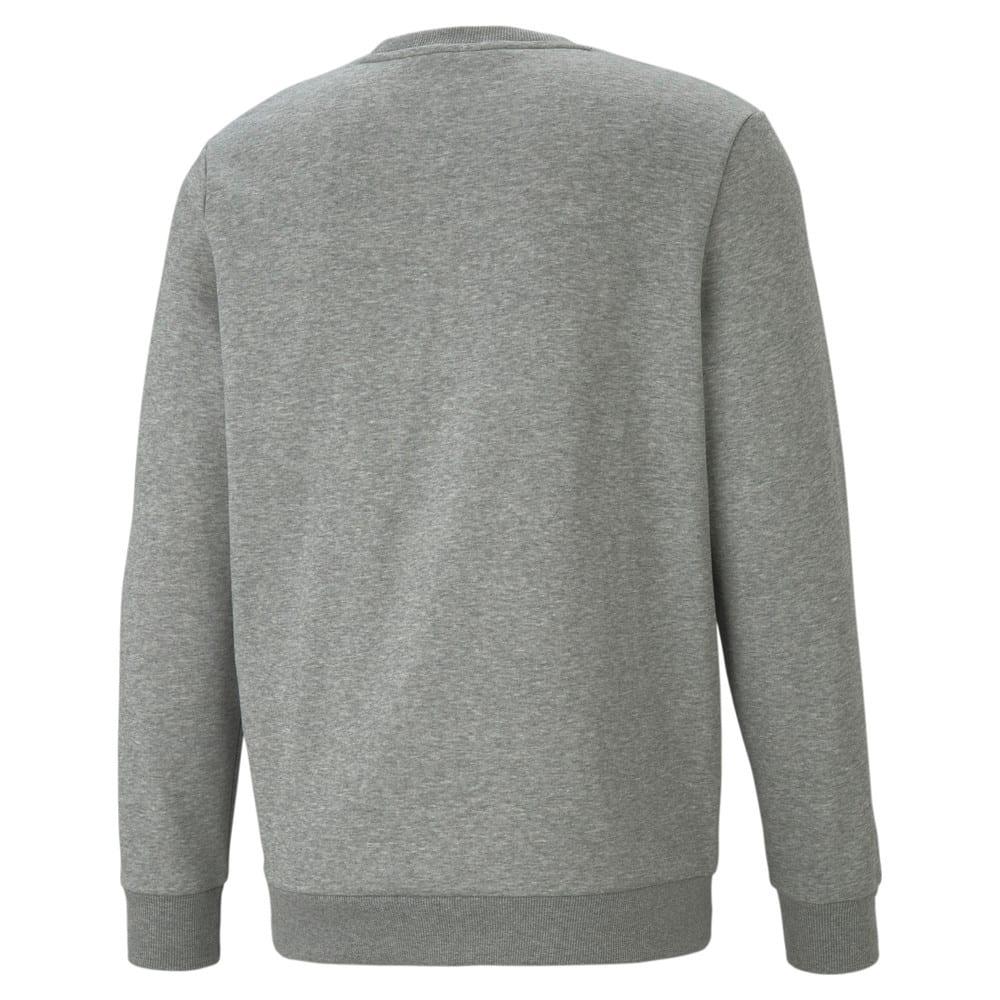 Зображення Puma Толстовка Essentials+ Two-Tone Big Logo Crew Neck Men's Sweater #2: Medium Gray Heather