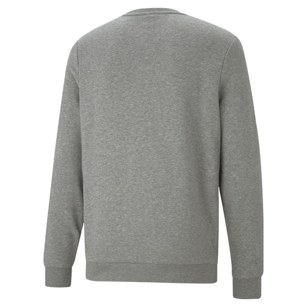 Изображение Puma Толстовка Essentials+ Two-Tone Big Logo Crew Neck Men's Sweater #2
