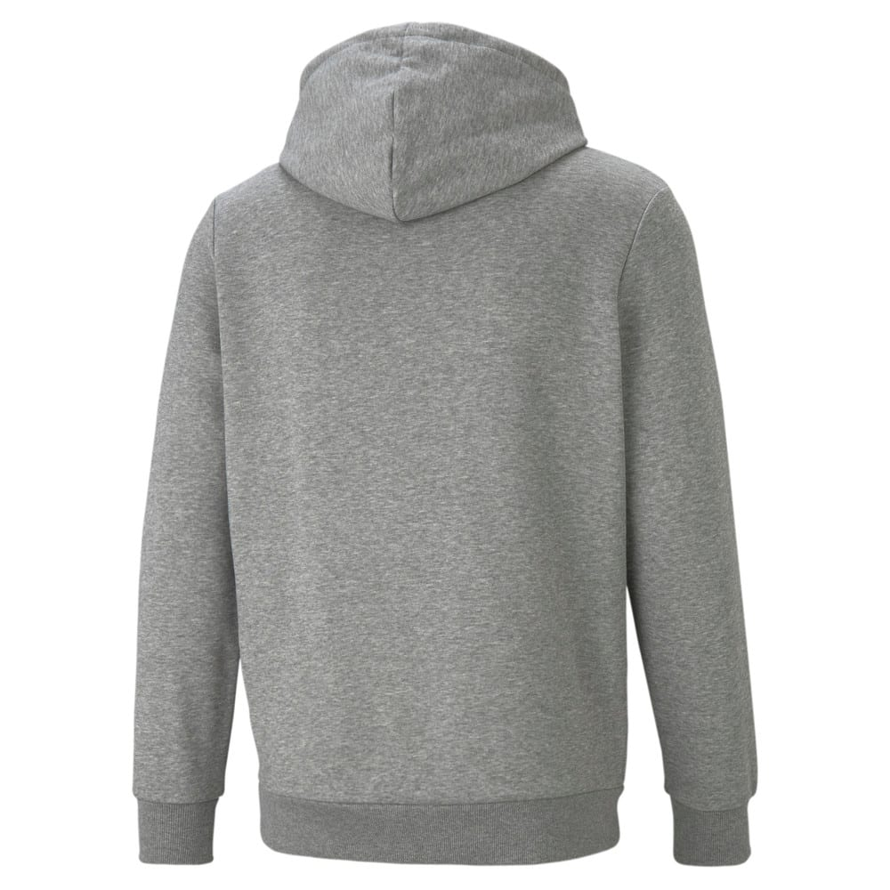 Изображение Puma Толстовка Essentials+ Two-Tone Big Logo Men's Hoodie #2: Medium Gray Heather