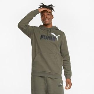 Зображення Puma Толстовка Essentials+ Two-Tone Big Logo Men's Hoodie