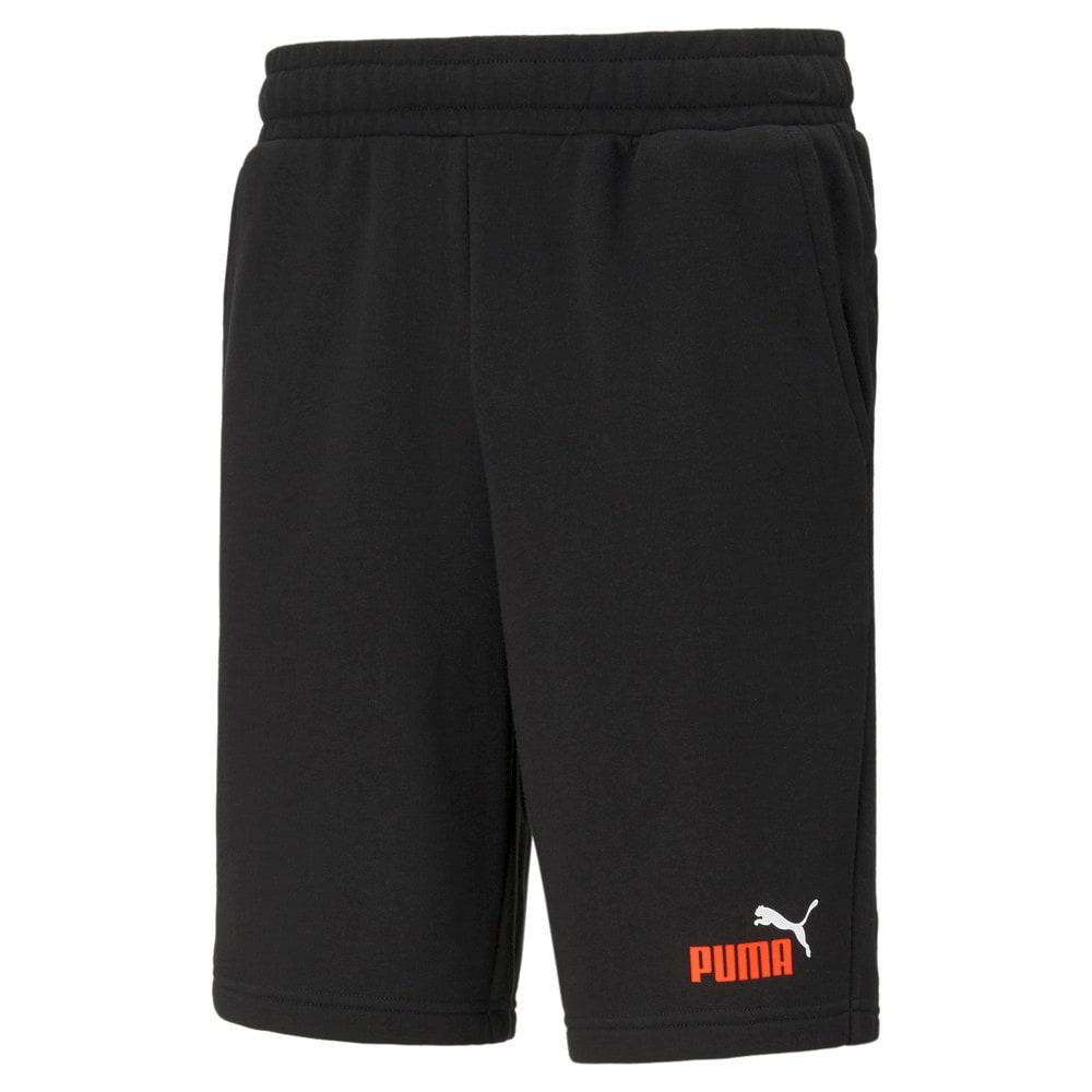Зображення Puma Шорти Essentials+ Two-Tone Men's Shorts #1: Puma Black