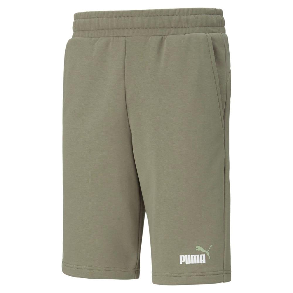 Зображення Puma Шорти Essentials+ Two-Tone Men's Shorts #1: Vetiver