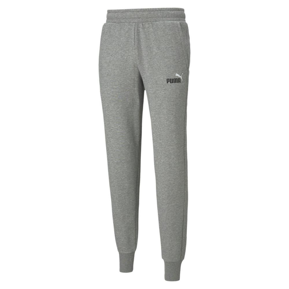 Зображення Puma Штани Essentials+ 2 Col Logo Men's Pants #1: Medium Gray Heather