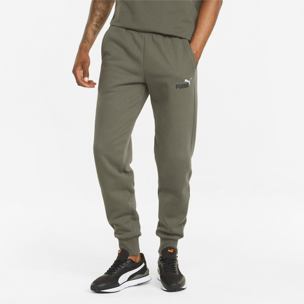 Зображення Puma Штани Essentials+ 2 Col Logo Men's Pants #1: Grape Leaf