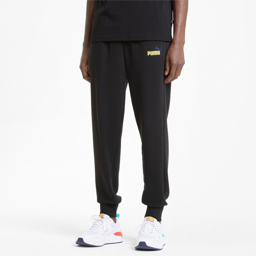 Изображение Puma Штаны Essentials+ Two-Tone Logo Men's Pants #1