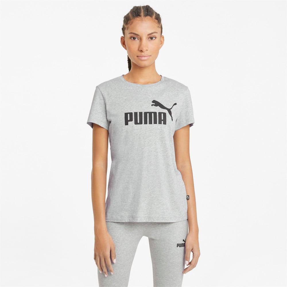 Зображення Puma Футболка Essentials Logo Women's Tee #1