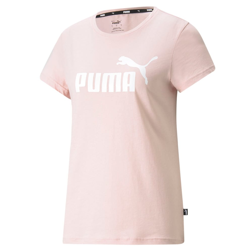 Зображення Puma Футболка Essentials Logo Women's Tee #1: Lotus
