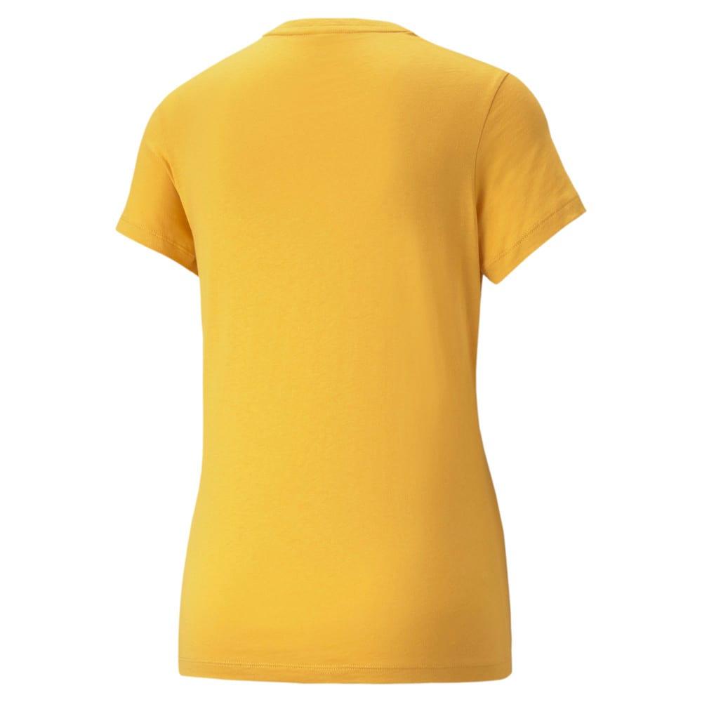 Изображение Puma Футболка Essentials Logo Women's Tee #2: Mineral Yellow