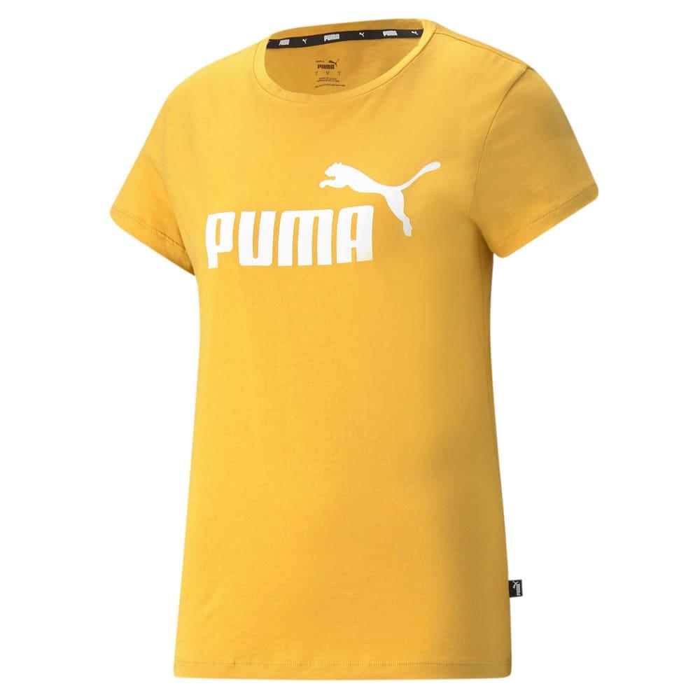 Изображение Puma Футболка Essentials Logo Women's Tee #1: Mineral Yellow