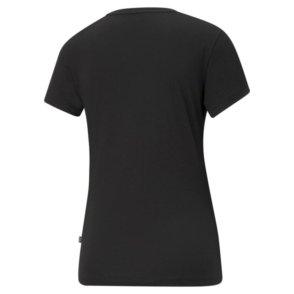 Зображення Puma Футболка Essentials Small Logo Women's Tee #2: Puma Black