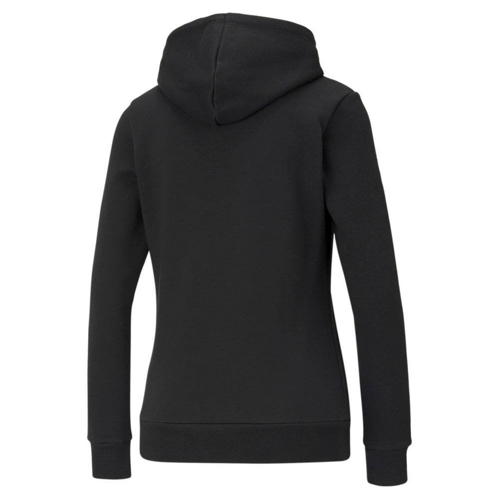 Зображення Puma Толстовка Essentials Logo Women's Hoodie #2: Puma Black