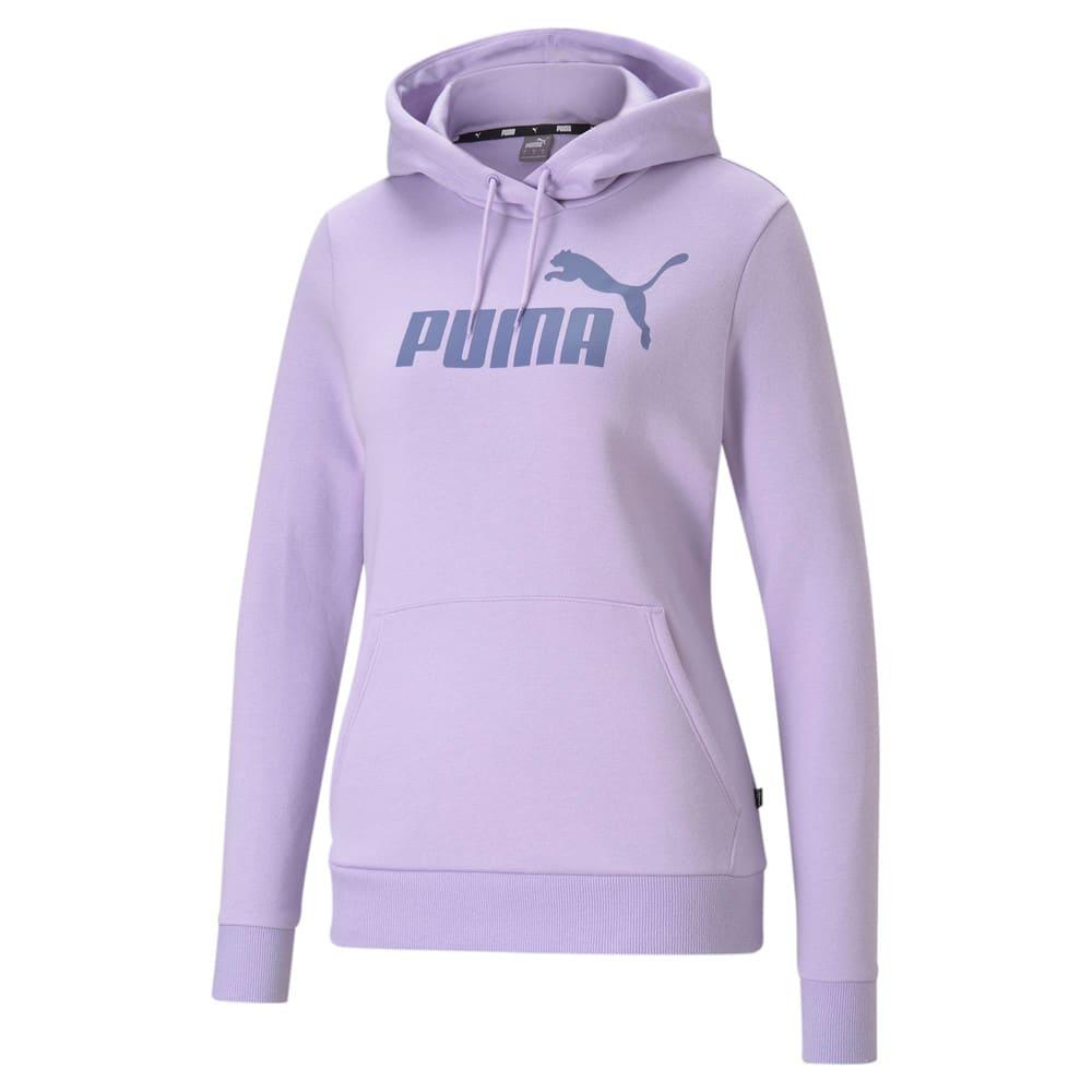 Imagen PUMA Polerón con capucha para mujer Essentials Logo FL #1
