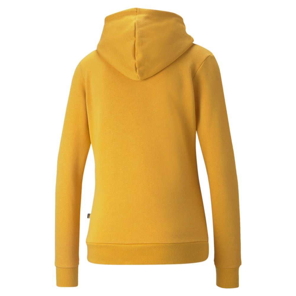 Изображение Puma Толстовка Essentials Logo FL Women's Hoodie #2: Mineral Yellow