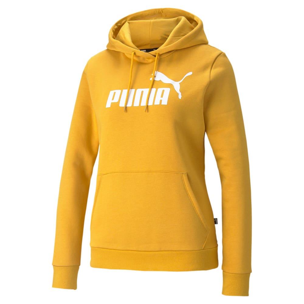 Изображение Puma Толстовка Essentials Logo FL Women's Hoodie #1: Mineral Yellow