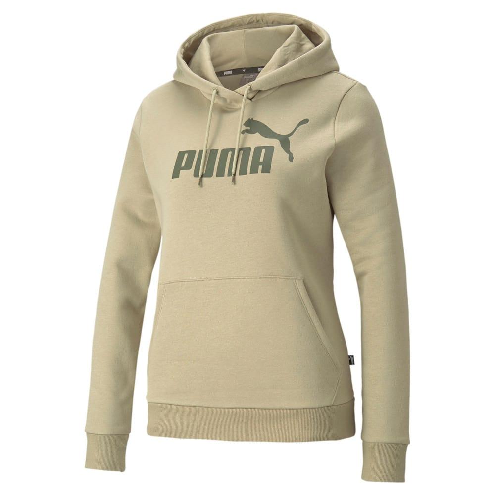 Изображение Puma Толстовка Essentials Logo FL Women's Hoodie #1