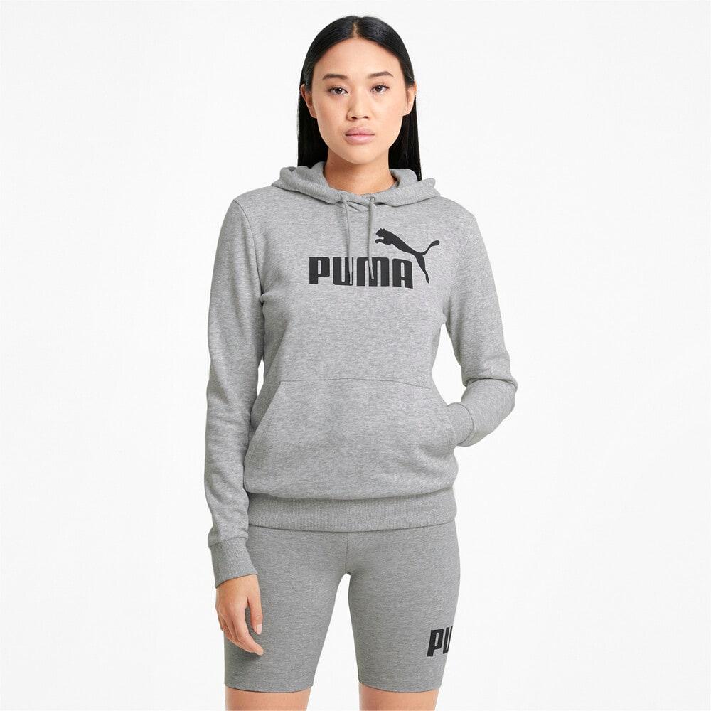 Изображение Puma Толстовка Essentials Logo Women's Hoodie #1