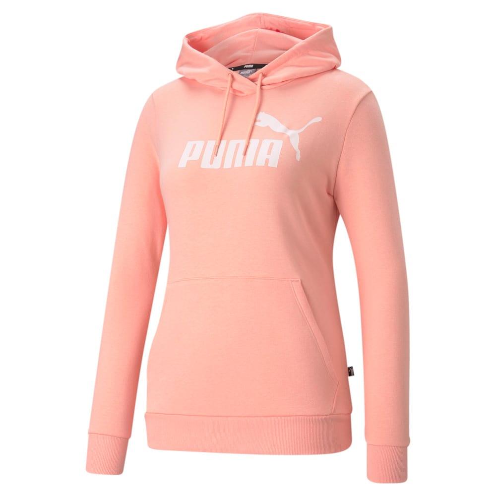 Image PUMA Moletom com Capuz Essentials Big Logo Feminino #1