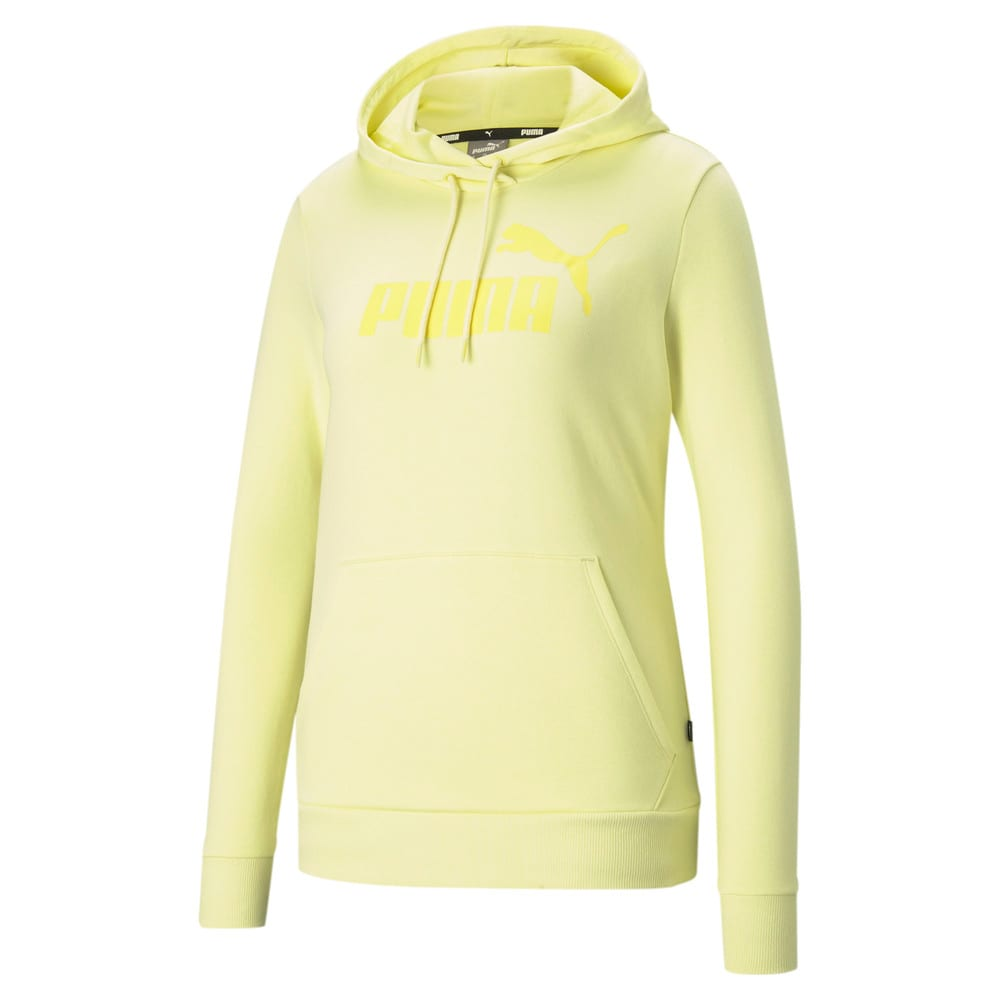 Зображення Puma Толстовка Essentials Big Logo Women's Hoodie #1: Yellow Pear