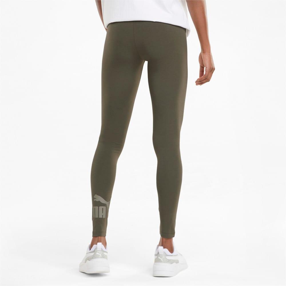 Зображення Puma Легінси Essentials Logo Women's Leggings #2: Grape Leaf